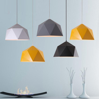 Modern LED Loft Industrial Pendant Light For Restaurant Cafe Bar Home Fashion Metal Hanging Lamp E27