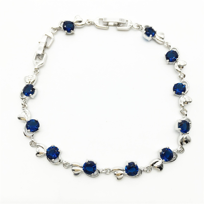 Active Wholesale & Retail ! Montana Bracelet & Bangle Cubic Zirconia White White Gold Color With The Best Service