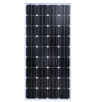 BUHESHUI 150W 18V Monocrystalline silicon Solar Panel Used For 12V photovoltaic Power Home Diy Solar System 2pcs/lot Factory