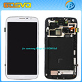 Reemplazo de pantalla LCD con pantalla táctil digitizer + conjunto del bastidor para Samsung Galaxy Mega 6.3 i9200 1 unidades envío gratis