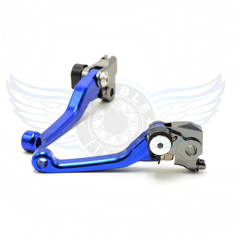 ФОТО CNC motorcycle Pivot Brake Clutch Levers blue motorbike brake clutch lever For Suzuki DRZ400SM DRZ 400SM DRZ400 SM 2000-2013