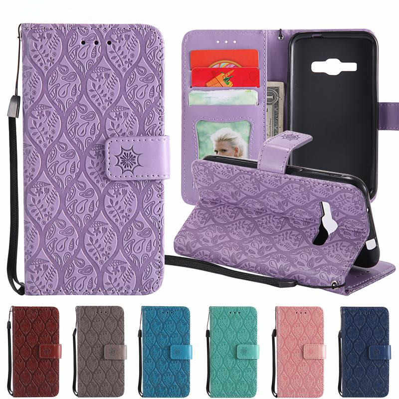 For Hoesje Samsung Galaxy j1 2016 Case Flip Cover Leather Phone Cases Samsung J1 2016 Cover Case For Samsung Galaxy J1 6 J120