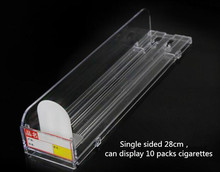 Free shipping Automatic cigarette pusher supermarket stand thruster convenience store Tobacco display rack 30pcs/lot
