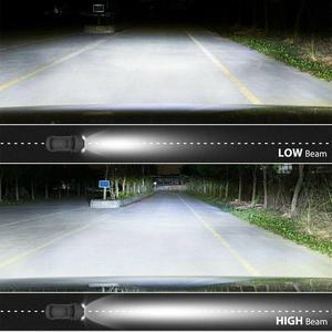 Image 5 - CO LIGHT 7 Round LED Headlights 75W 35W High Low Beam Halo Angle Eyes DRL For Jeep Wrangler JK JL TJ LJ CJ Land Rover 12V 24V