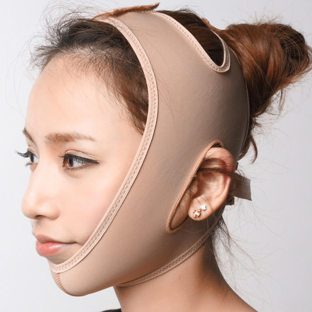 V Shaper Facial Slimming Bandage Relaxation Lift Up Belt Shape Lift Reduce Double Chin Face Mask Face Thining Band Massage new red color silicone face slim lift up belt facial slimming massage band mask personal beauty gift