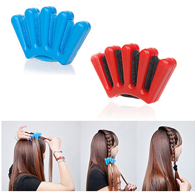 Diy French Braid Stylist Sponge Plait Hair Twist Styling Braiding Tool Braider