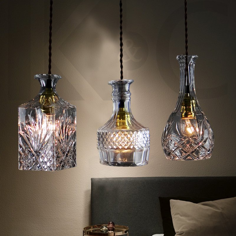 New Arrival Glass Crystal Dining Room Pendant Light Bar