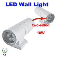 10W Waterproof LED Wall Light Hall Porch Sconces Decor Fixture outdoor IP65 up and down Wall Lamp lamparas LED outdoor Wall