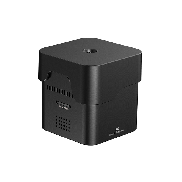 Coolux Orimag P6 Mini Handheld Projector 1080P 80Ansi Lumen DLP Projector Home Theater Pocket Projector