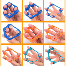 Finger Resistance Rubber Band Training Stretch