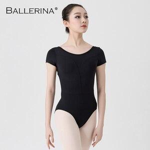 Image 3 - Leotardos de Ballet para las mujeres Yoga baile Sexy formación profesional gimnasia Impresión Digital impresión Leotardos de baile de pescado de belleza de 5648