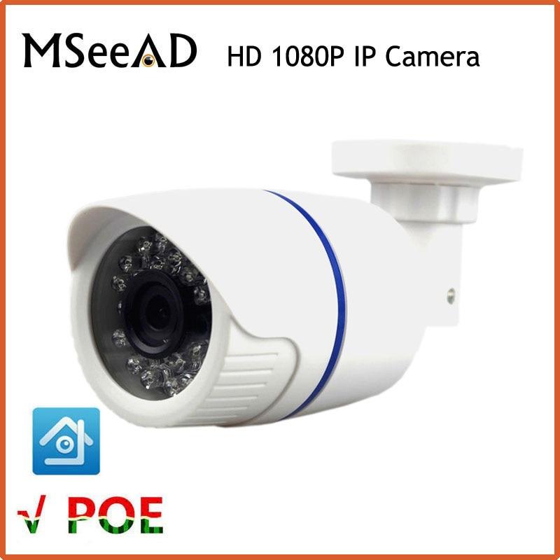 Mini IP Camera PoE 2MP Full HD 1080p Security CCTV Cam ONVIF 2.0 CMOS IR Night Vision H.264 Waterproof Outdoor PoE CCTV Camera security ip camera outdoor h 264 2mp onvif 2 0 cctv full hd 1080p 2 0megapixel dome 2 8mm lens wide angle ir cut filter