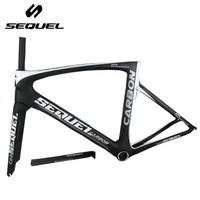 2017 SEQUEL Brand Carbon Road Frame Made From Toray T1000 Carbon Fiber Good Quality And Real