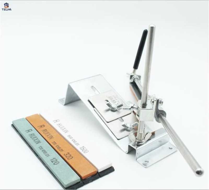 Lansky Sharpener With 4pcs Stones Tool Sharpening Machine Tool For Kitchen Knives Sharpening Machine Update Sharpening