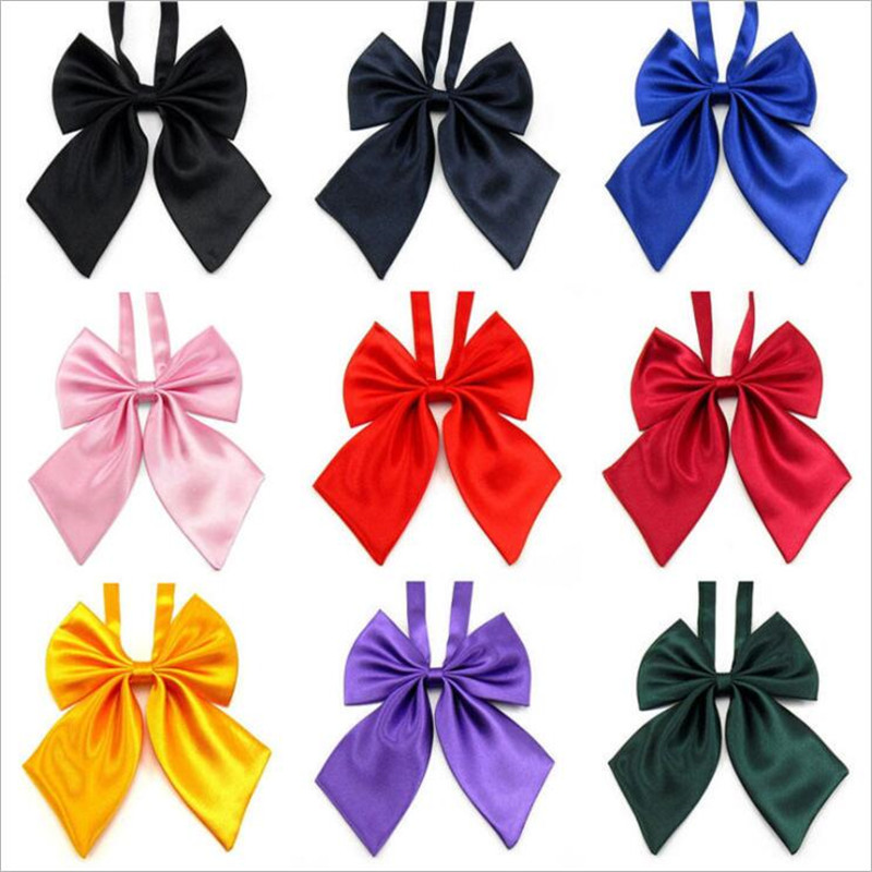 Adjustable School Girls Uniform Bow Tie Students Bowknot Necktie Cute