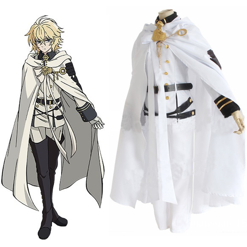 Seraph of the end Anime Character Cosplay Costume Mikaela ...