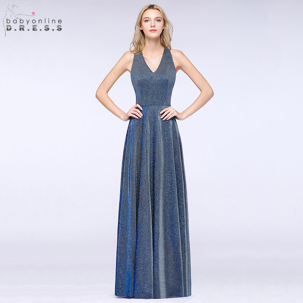 Robe de Soiree Bright Silk Ombre Long Evening Dress 2019 Sexy Halter Neck Reflective Evening Gown