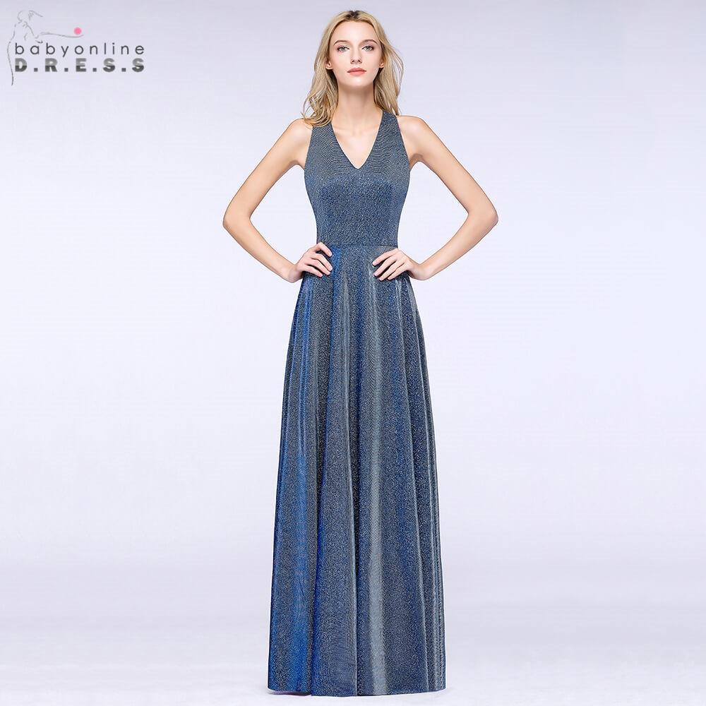 Robe de Soiree Bright Silk Ombre Long   Evening     Dress   2019 Sexy Halter Neck Reflective   Evening   Gown Vestido de Festa Longo