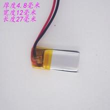 3.7 v baterie litowo-polimerowe baterie bateria litowo-polimerowa 3 7 v akumulator litowo-jonowy do 501225 110 mah
