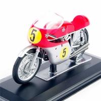 1 22 Motorcycle Model MV AGUSTA 4cil 500cc World Champion 1963 64 65 Rider Diecast Motorbike
