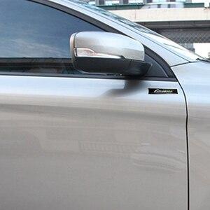 Автомобильная боковая наклейка на дверь эмблема значок украшение для логотипа Lorinser для Mercedes Benz C200 W210 W211 W203 W204 G500 SLS GLK E320 GLA