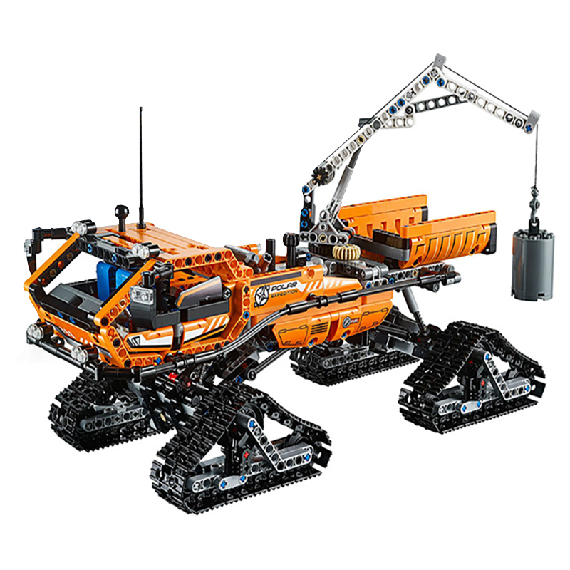 Lepin 20012 Arctic Truck building bricks blocks Toys for children boys Game Model Car Gift Compatible with Bela 42038 2017 enlighten city series garbage truck car building block sets bricks toys gift for children compatible with lepin