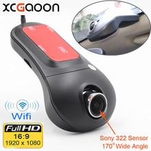 XCGaoon Wifi Voiture DVR Registrator Enregistreur Vidéo Numérique Caméscope Dash Caméra 1080 P Nuit Version Novatek 96655 Rotation 60 degrés