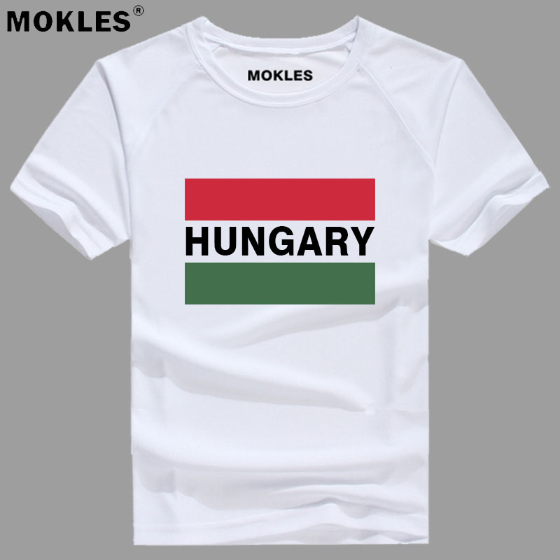 HUNGARY t shirt diy free custom made name number hun t-shirt nation flag hu hungarian country college print photo logos clothing
