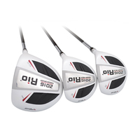 CRESTGOLF MG002 Golf Drivers/ Fairway Woods/ Hybrids Golf Woods ClubsTitanium alloy ClubHead and Graphite Shaft Club For Men