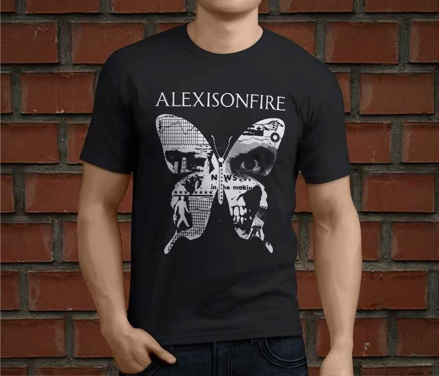 Nóng Alexisonfire Dây Ra Ban Nhạc Rock Nam Áo Thun Size S-3XLsummer Bán Mới TEE In Áo Thun Nam Hàng Đầu