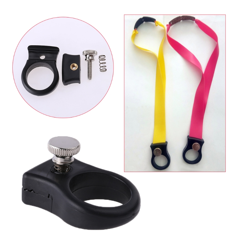 Slingshot Ring Resin Finger Catapult Hunting Outdoors Shooting Tactical Supplies