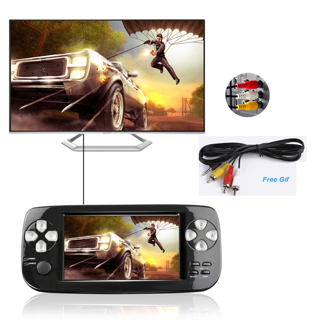 4.3 Inch PAP K3 Plus Game Console For CP1/GBA/FC/NEO/GEO Portable 64 Bit Handheld Video Game Player/Consoles Built-in 3000 Games