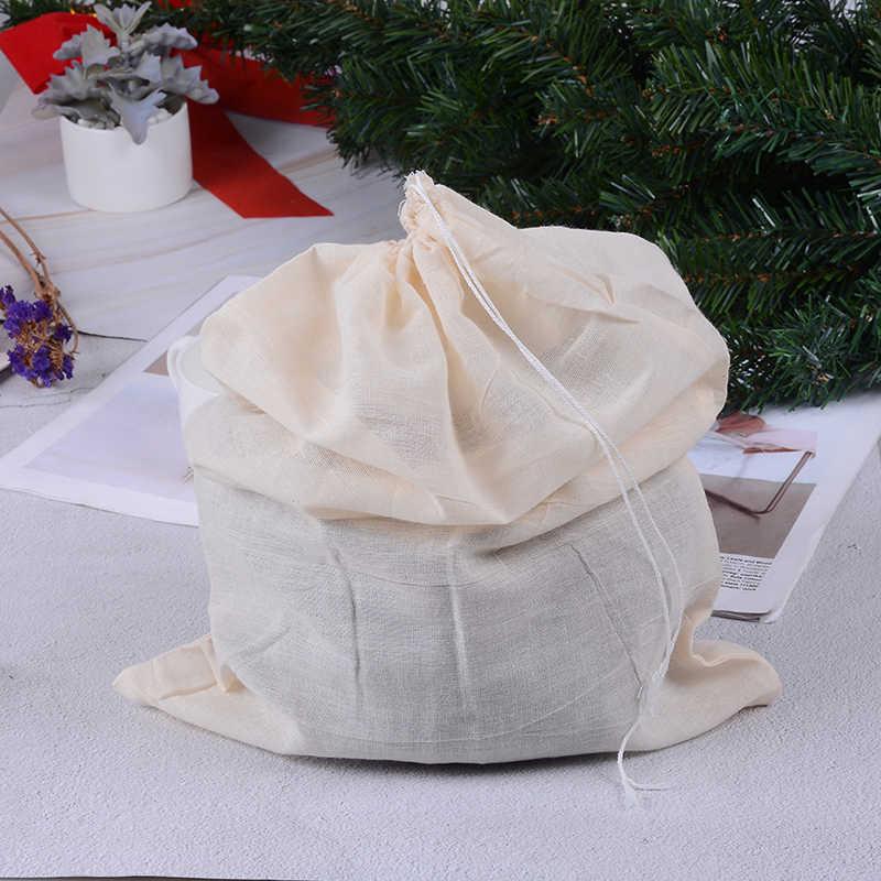 Accessori da cucina Pratico Dado Cibo Tè Al Latte Succo di Frutta Caffè Vino Nylon Mesh Net Ceppo di Erbe Sacchetto Filtro Liquido di 40x30cm