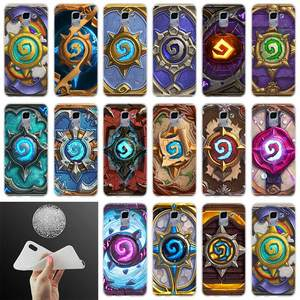 Soft silicone Phone Cover hearthstone FOR Samsung Galaxy J6 J4 J8 J7 2018 Plus J3 J5 J7 Prime Pro 2017 2016 case(China)