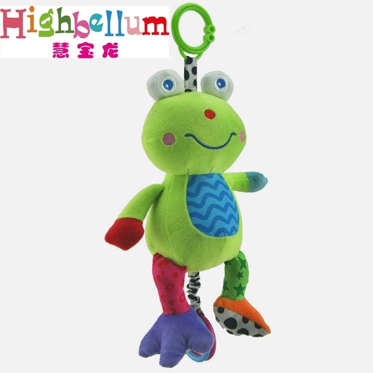 Baby Kids Plush Rattle Toys Կրթական Երաժշտական - Խաղալիքներ նորածինների համար - Լուսանկար 4