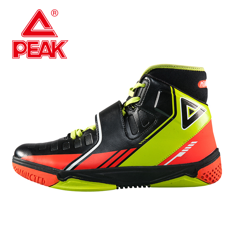 PEAK SPORT Monster 3.3 Men Basketball Shoes FOOTHOLD Tech Athletic Training Ankle Boots Breathable Comfortable Sports Sneakers peak sport lightning ii men authent basketball shoes competitions athletic boots foothold cushion 3 tech sneakers eur 40 50