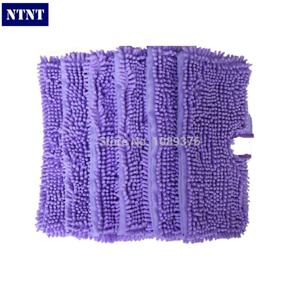 NTNT Free Post New 6 QTY Washable Microfibre Steam Mop Cloth For Shark Pad S3501 S3550 s3601 стоимость