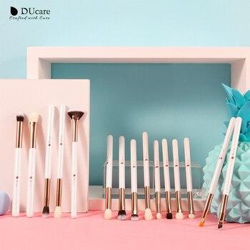DUcare Make up Brushes Set Brush Makeup Brush 15pcs Eyeliner Eyebrow Shader Eye shadow Blending Brushes Natural-synthetic Hair 1