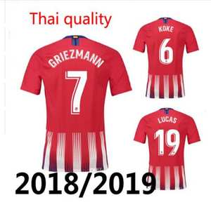 2018 2019 Atletico Madrides Adult shirt man t-shirt eeb62be212d13
