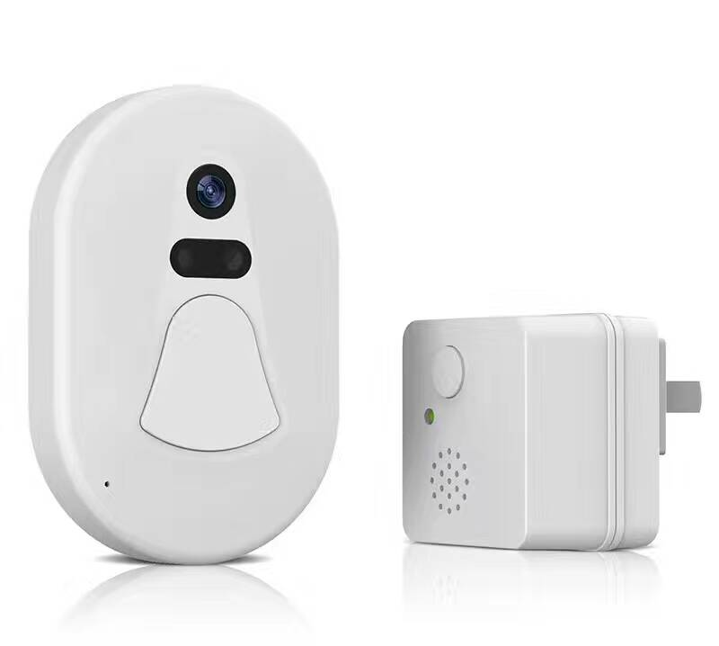 Wireless WIFI IP Doorbell Video  Door Phone AAA Battery bw wireless wifi door