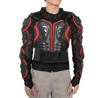 Nowy Motocross Racing Kurtka Moda męska Czarny i Czerwony Motocykl Armor Jacket