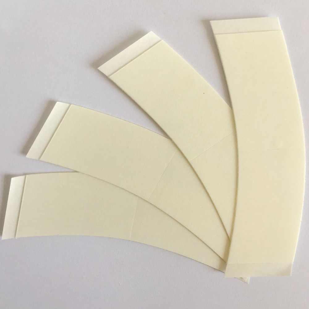 36 шт. 7,6 см * 2,2 см белая ультра удерживающая лента, кружевная Передняя Лента, дуговая Двусторонняя лента для парика, клейкая лента