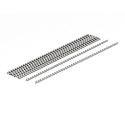 1.5mm Dia 100mm Length HSS Round Shaft Rod Bar Lathe Tools Gray 20pcs
