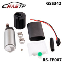 RASTP- Universal Intank High Performance Fuel Pump With Install Kit Replace for GSS342 RS-FP007