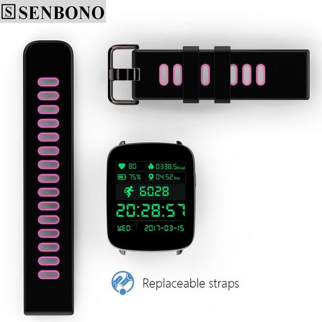 SENBONO SBN-GV68 Bluetooth Smart Watch Pedometer