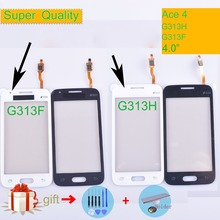 G313 For Samsung Galaxy Ace 4 Ace4 G313H G131F Touch Screen Panel Sensor Digitizer Front Glass Lens Touchscreen NO LCD