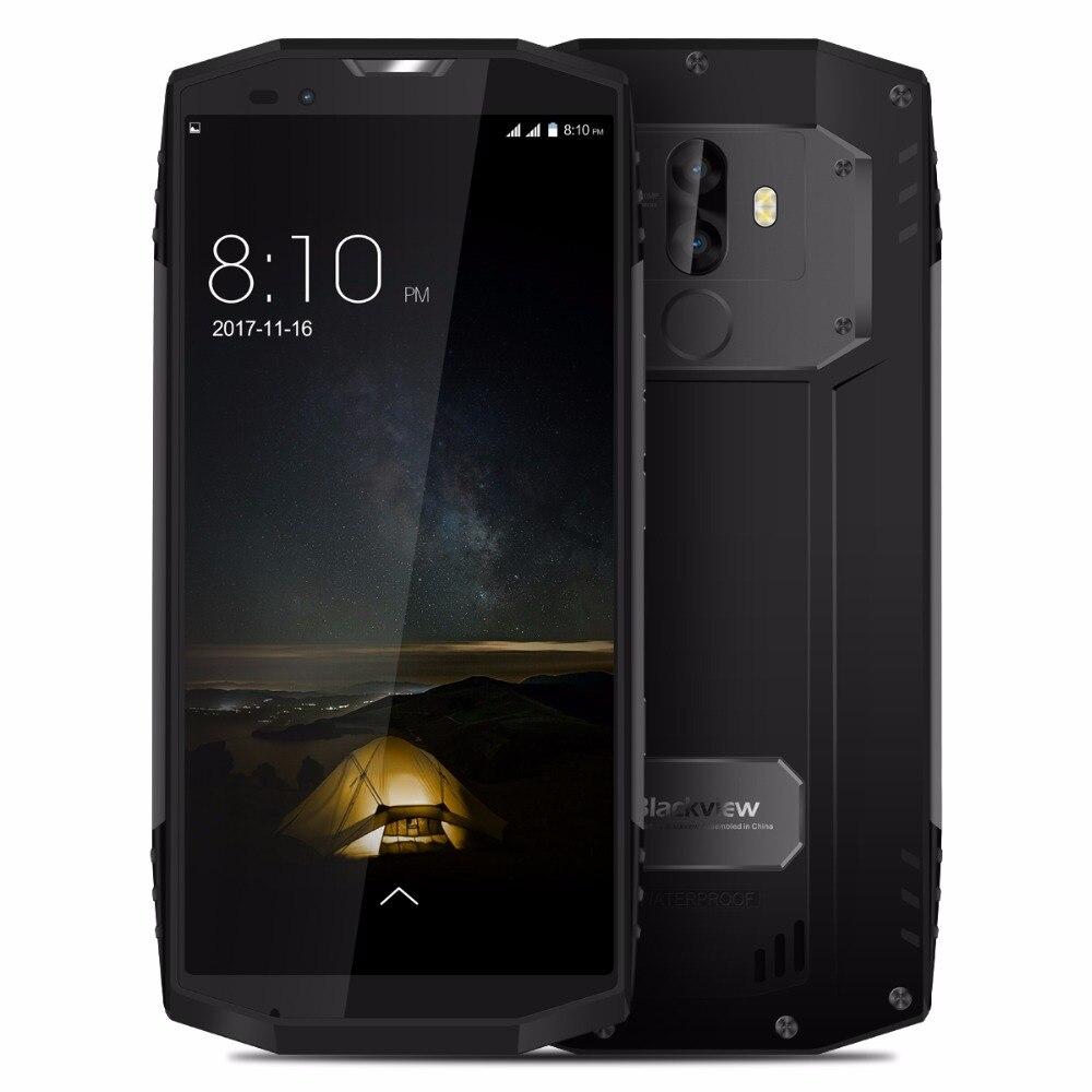 BLACKVIEW BV9000 PRO IP68 étanche Android 7.1 MTK6757CD Octa Core 6G 128G 4180 mAh double caméra NFC 5.7 pouces 18:9 téléphone portable