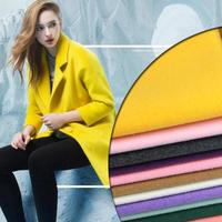Half Meter Soft Artificial Tweed Wool Cloth Warm Woolen Textile Faux Cashmere Fabric For Coats Jackets