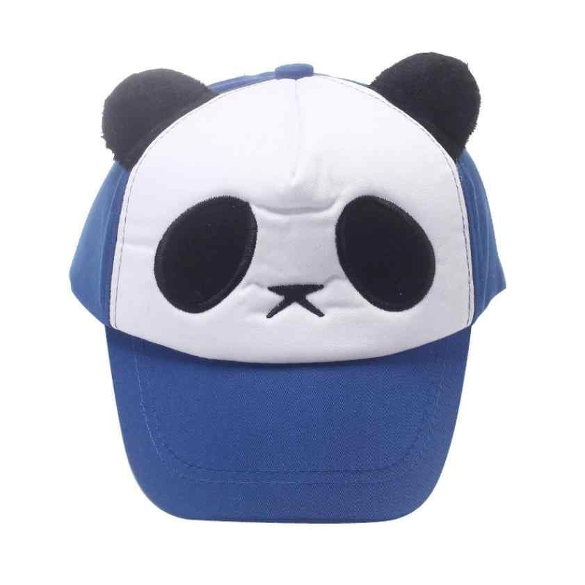 ... 2017 Lovely Panda Print Solid Unisex Peaked Hat Snapback Baseball Cap  Adjustable Hats Casquette Vintage Hats ... 579640c29394