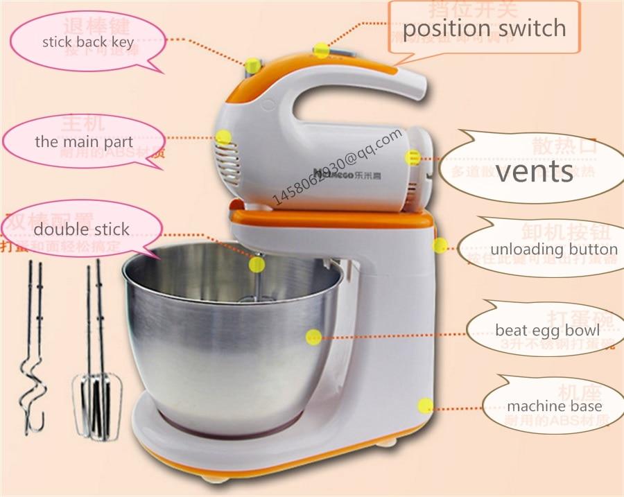 Home horizontal dough mixer cookie dough mixer used commercial dough mixer food dough mixer blue like play dough